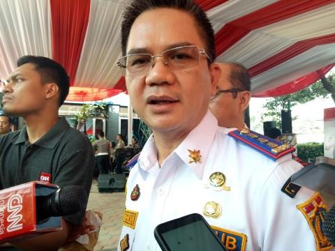 Odong-odong Haram Melintas di Jakarta