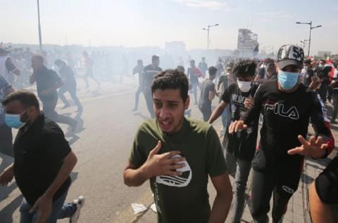 Irak Kerahkan Unit Anti-Terorisme untuk Akhiri Demo