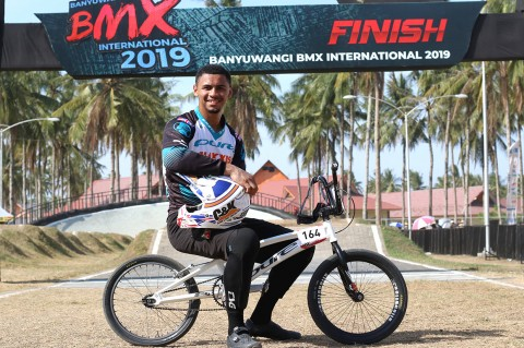 Caroline Buchanan & Quillan Isidore Juarai Banyuwangi BMX International 2019