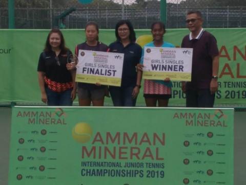 Nadya dan Gugun Juara Amman 2019