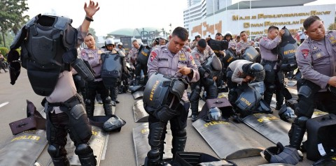 9.000 Personel Amankan Unjuk Rasa di Istana Negara