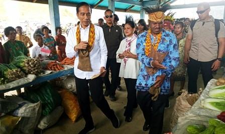 Jokowi Minta Rehabilitasi Kerusakan di Wamena Segera Dirampungkan