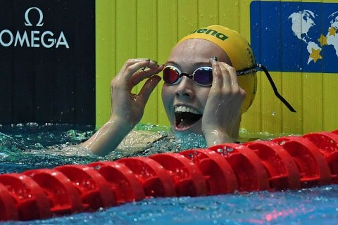 Perenang Australia Ukir Rekor 100 Meter Gaya Punggung