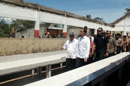 Jokowi Berharap Wamena Kembali Normal