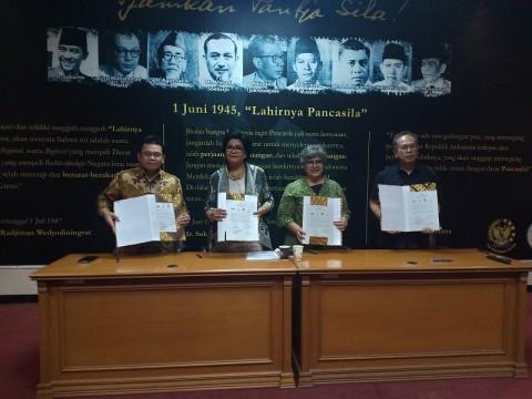 Empat Asosiasi Ahli Deklarasi Pelestarian Cagar Budaya Berkelanjutan