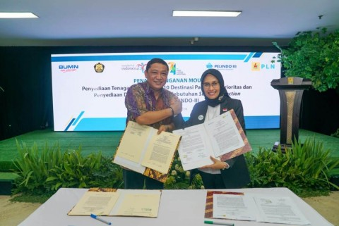 Pelindo III Gunakan Listrik PLN Demi Mengurangi Impor BBM