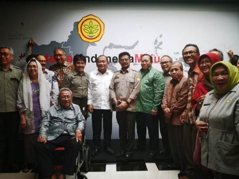 Mentan SYL Rangkul Para Senior dan Mantan Menteri