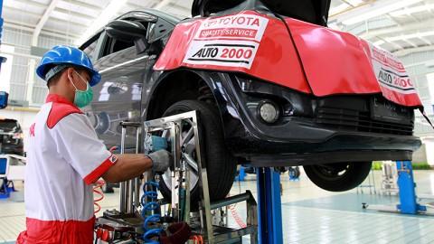 Auto2000 Pramuka jadi Pusat Layanan Purna Jual Mobil Menteri