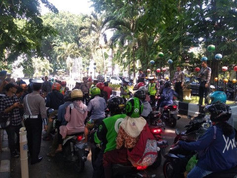 Ribuan Pelanggar Terjaring Razia di Sidoarjo