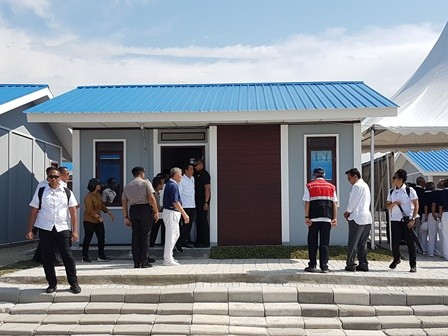 Private Sector Assists Post-Quake Reconstruction Process in Palu