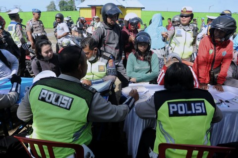 2.800 Pengendara di Tangerang Kena Tilang