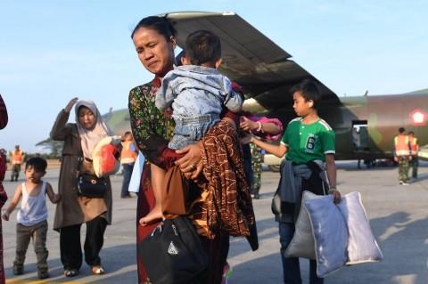 385 Pengungsi Warga Wamena di Jayapura Ingin Pulang