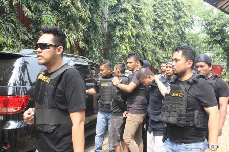 Empat Terduga Pengedar Narkoba Kampung Ambon Ditangkap