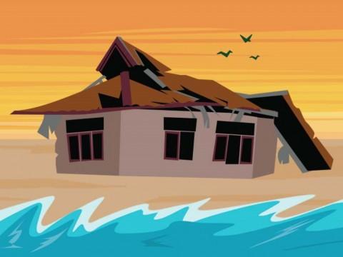 119 Rumah Penduduk Sikka Diterjang Gelombang