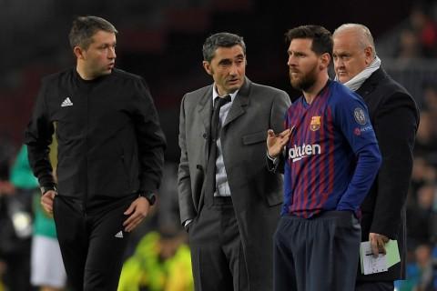 Pelatih Barcelona Kehabisan Kata-kata untuk Messi