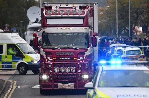 Polisi Buru Dalang Kasus 39 Jasad dalam Truk di Inggris