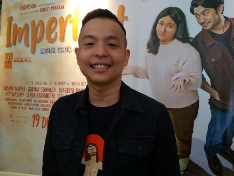Ernest Prakasa Tak Menyangka Reza Rahadian Antusias Diajak Kerjasama