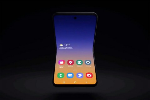 Samsung Ungkap Konsep Ponsel Lipat Anyar