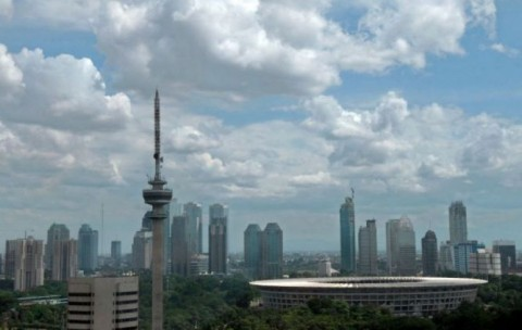 Cuaca Jakarta Diramal Cerah Berawan di Penghujung Oktober