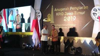 Presenter Metro TV Jatim Sabet Penghargaan di Ajang KPID 2019