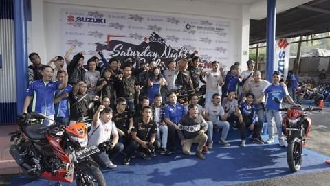 Saturday Night Ride di Manado Bersama 500 Bikers