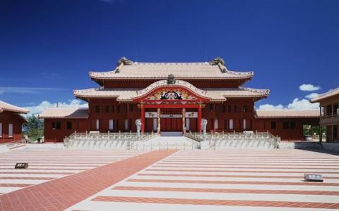 Kastil Bersejarah di Okinawa Terbakar