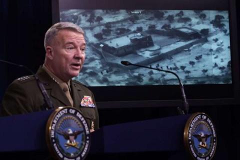 Pentagon Rilis Gambar Pertama Serangan ke Pemimpin ISIS
