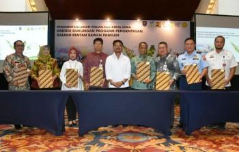 Kemensos dan Kementan Bersinergi Entaskan Daerah Rentan Rawan Pangan