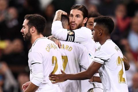 Madrid Gilas Leganes Lima Gol Tanpa Balas