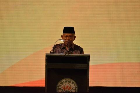 Ma'ruf Amin: Pemerintah Terus Lawan Kampanye Hitam Sawit