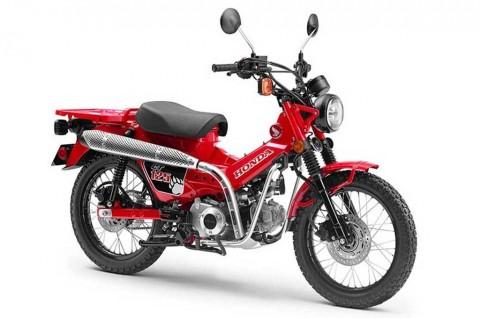 Intip Super Cub Zaman Now Honda New CT125 Concept