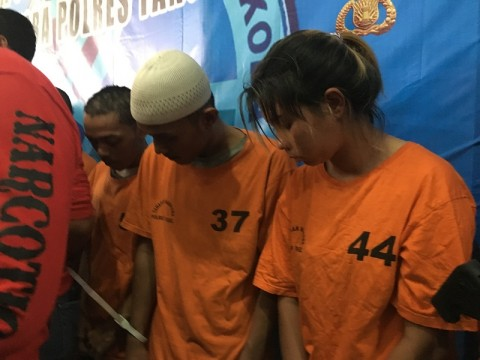 WNA Thailand Ditangkap Jadi Kurir Sabu