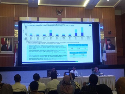 Realisasi Investasi Kuartal III-2019 Capai Rp205 Triliun