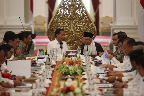 Jokowi Pamer Ekonomi Indonesia Peringkat 7 Dunia