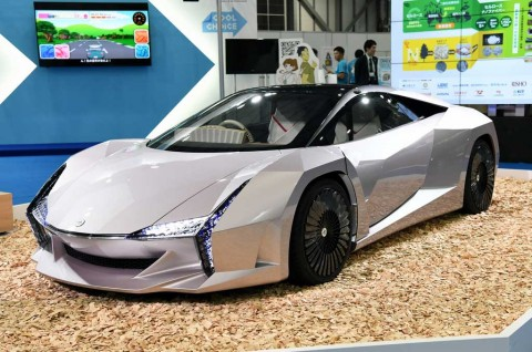 Nano Cellulose Supercar dari Bahan Limbah Pertanian