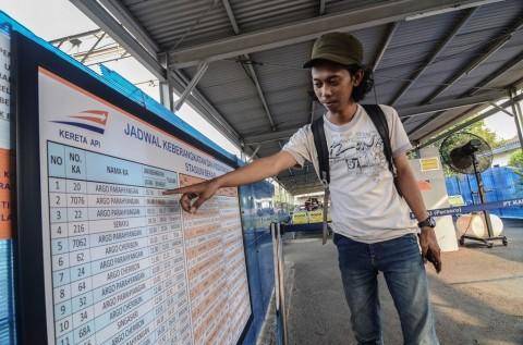 Stasiun Bekasi Melayani Keberangkatan KA Jarak Jauh