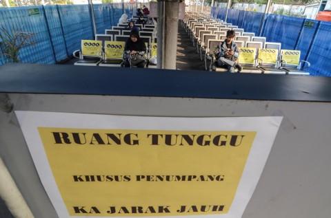 Fasilitas Stasiun Bekasi Mendukung Operasional KA Jarak Jauh