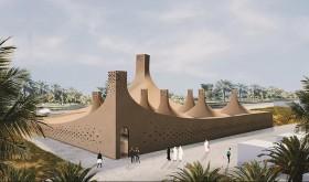 Museum dengan Menara Angin di Uni Emirat Arab