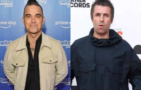 Robbie Williams Masih Senang Bertarung dengan Liam Gallagher