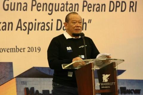 La Nyalla Minta Senator Gencar Angkat Persoalan Daerah