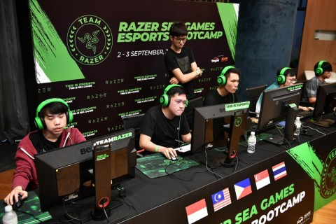 Razer Kembali Gelar Bootcamp Esports Dukung SEA Games 2019
