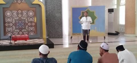 Masjid Nursiah Daud Paloh Latih Puluhan Calon Khatib
