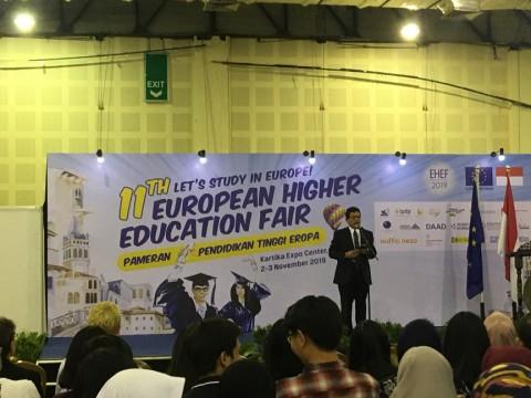 Uni Eropa Tawarkan Pelajar Indonesia Pengembangan Diri