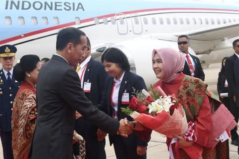 Jokowi Tiba di Bangkok
