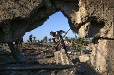 Serangan Udara Israel Tewaskan Satu Warga Palestina
