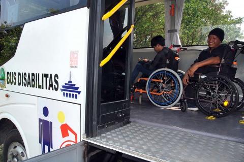Layanan Bus untuk Penyandang Disabilitas di Bogor