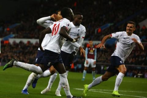 Gol Telat Mane Menangkan Liverpool