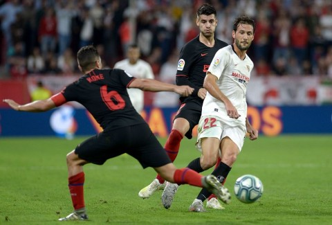 Atletico Tahan Imbang Sevilla
