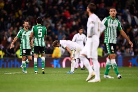 Diimbangi Real Betis, Real Madrid Gagal Geser Barcelona dari Puncak Klasemen