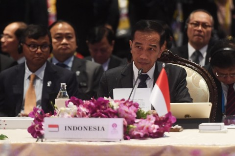 Jokowi Serukan Implementasi Outlook ASEAN Tentang Indo-Pasifik
